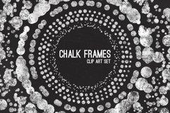 Chalk Confetti Frames Clip Art Product Image 1