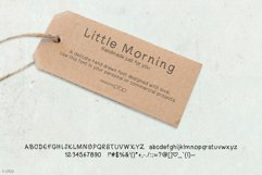 Little Morning Plain Font Product Image 2