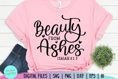 Beauty From Ashes, Bible Verse Svg, Scripture Svg, Christian Product Image 3