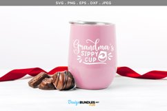 Grandma's sippy cup- svg & printable Product Image 1