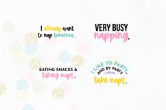 Funny Sleepy Quote SVG Bundle Volume 1 - Colorful Version Product Image 6