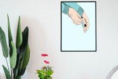 Wall Art Fashion Long-sleeve women shirt Product Image 4