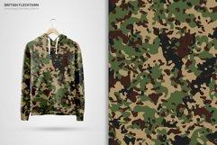 British Flecktarn Camouflage Seamless Patterns Product Image 6