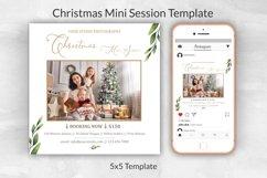 Christmas Mini Session Template Product Image 1