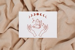 Witch hands svg, Crystal svg, Moon phases svg, Magic gem Product Image 3