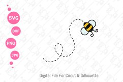 Cute Bumble Bee Gnomes svg | Gnomes Honey png| svg png dxf Product Image 5
