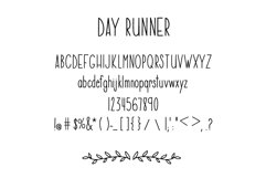 Day Runner Font - a tall, skinny, handwritten font Product Image 2