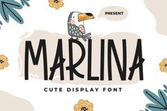 Marlina - Cute Display Font Product Image 1