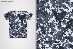 British Flecktarn Camouflage Seamless Patterns Product Image 5