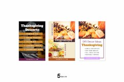 Thanksgiving Scroll Stopping Food Blogger Pinterest Pin Pack Product Image 3