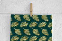 Gold Palm Leaves Backgrounds Product Image 3