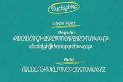 Nyctaghina - A Quirky Handwritten Font Product Image 5