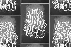 Web Font Graffiti Gang Font Product Image 3