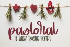 Web Font Pastoral Product Image 1