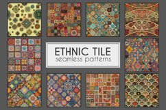 Ethnic tile seamless pattern collection Product Image 1
