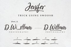 Jenifer // a Casual Handwriting Font Product Image 5