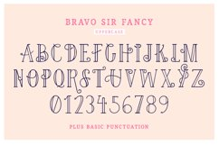 Bravo Sir Font Family Product Image 5
