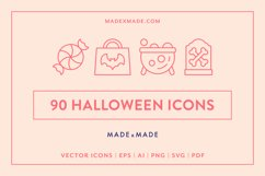 Line Icons - Halloween Product Image 1