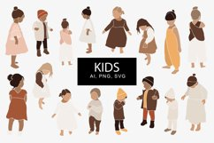 Abstract kids clipart