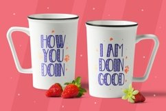 Bambynos - Cute Display Font Product Image 3