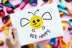 Bee svg Bee happy svg Product Image 2