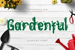 Gardenful Font Product Image 1