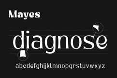 Mayes - Variable Font Product Image 4