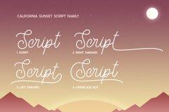California Sunset Font Family Product Image 5