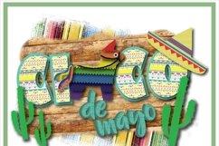 Cinco De Mayo Pinata Mexican Sublimation Product Image 2