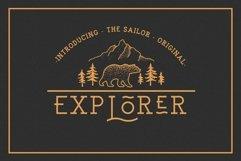 EXPLORER - Sailor Original Typeface Product Image 1