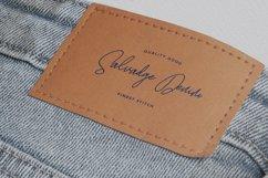 Satinwoods Slanted Signature Font Product Image 6
