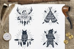 Wild at Heart. Native American Vintage Badges. Vol.1 Product Image 4