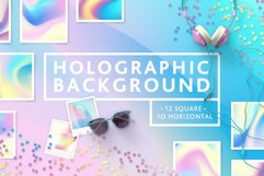 Set Holographic background textures Product Image 1