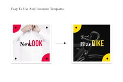 Social Media pack - BlackRed Product Image 6