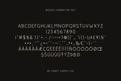Rolves - Sans Serif Font Family Product Image 5