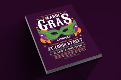 Mardi Gras Flyer Template Product Image 4