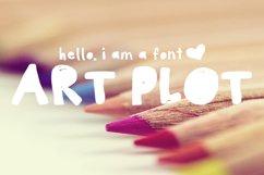 Art Plot Bold Hand Drawn Font Product Image 1