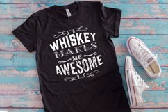 Whiskey Makes Me bundle of 4 shiskey Designs/ graphics Product Image 5