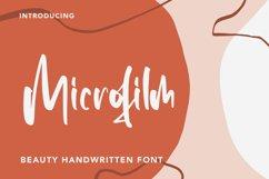 Microfilm - Beauty Handwritten Font Product Image 1