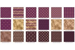Victorian Purple and Gold Digital Paper Product Image 4