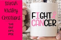 I Can Fight Cancer Svg, Cancer Svg, Cancer Awareness Product Image 2