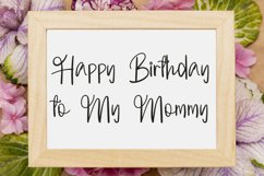 Welcome Mothers   Lovely Calligraphy Font Product Image 3