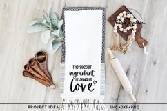 The Secret Ingredient is Always Love SVG Product Image 4