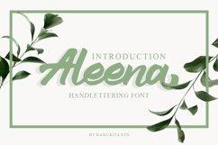 Aleena Handlettering Font Product Image 1