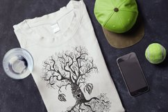 Hand drawing scary tree in doodle style Product Image 3