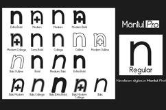 Mantul Pro - 19 Style font Product Image 2