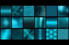 Teal metallic foil textures Product Image 2
