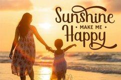 Sunshine Mind - Display Script Font Product Image 5
