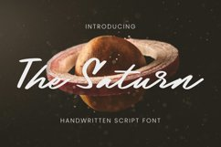 The Saturn Font Product Image 1