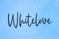 Whitelove - Handwritten Font Product Image 1